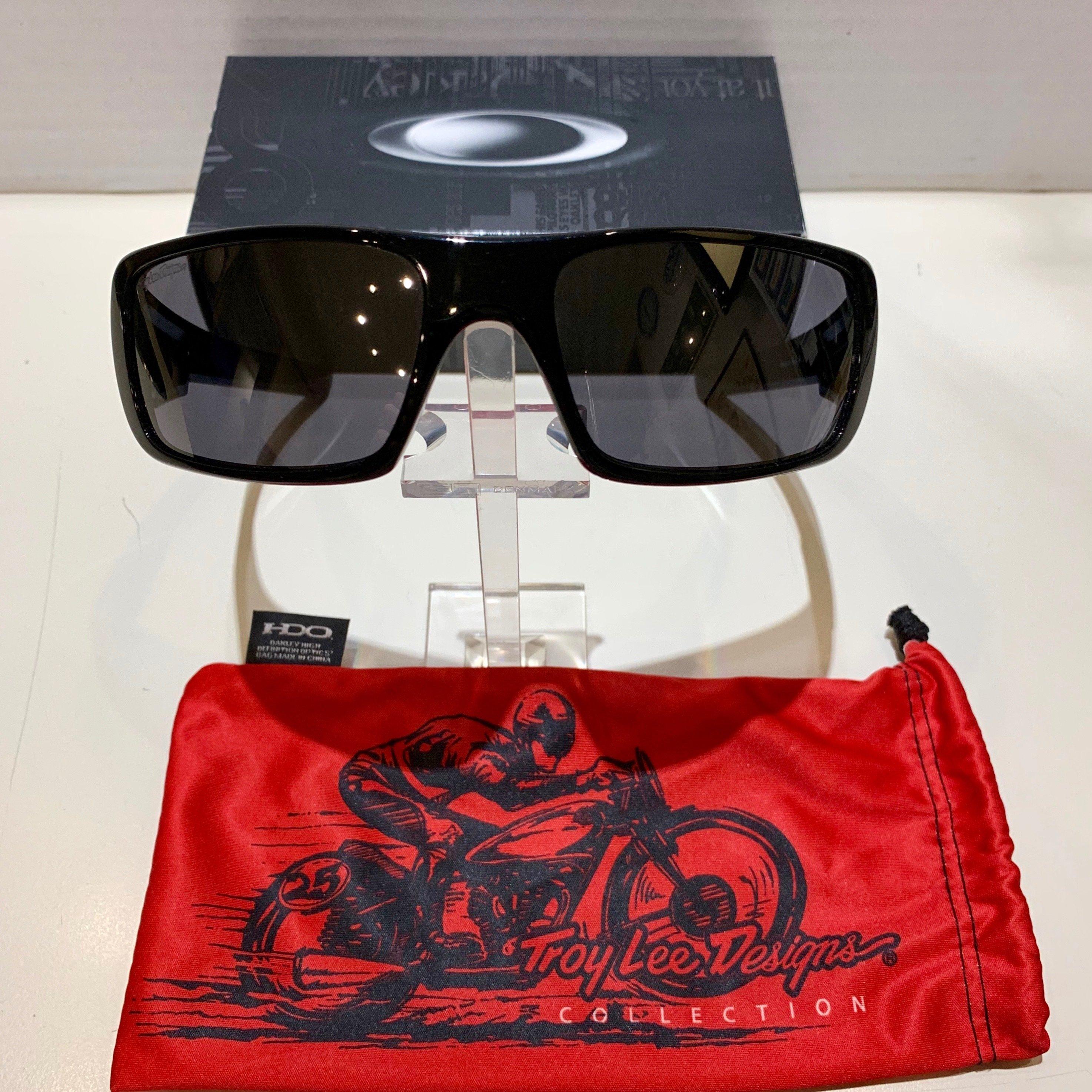 Oakley Crankshaft Troy Lee Design Collection - Polished Black - Black iridium 923918