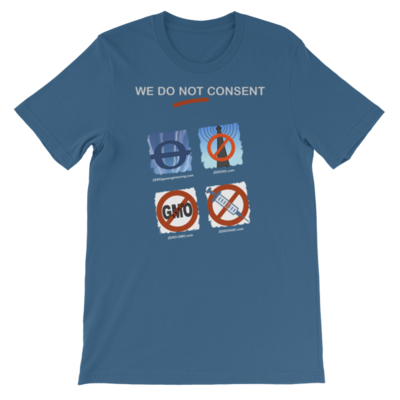 WE DO NOT CONSENT Z-sites 2x2 Short-Sleeve Unisex T-Shirt