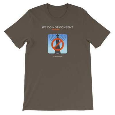 WE DO NOT CONSENT ZERO5G.com Short-Sleeve Unisex T-Shirt