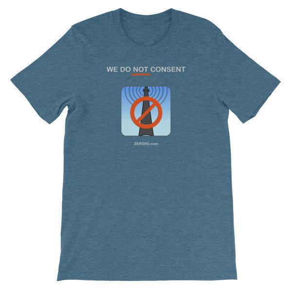 WE DO NOT CONSENT ZERO5G.com Short-Sleeve Unisex T-Shirt