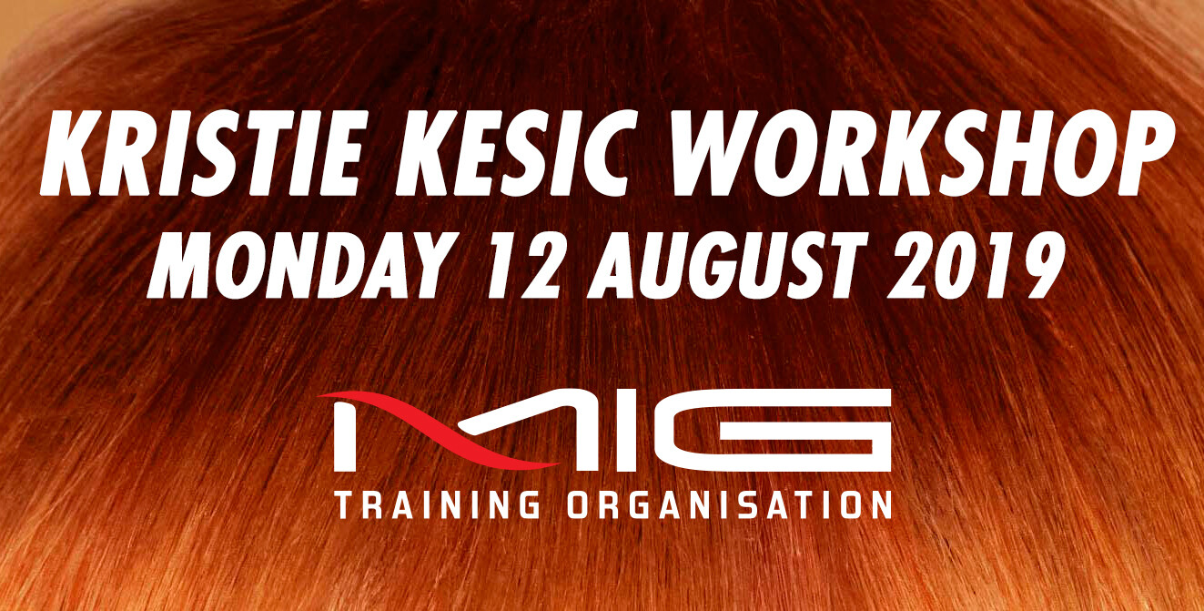 KRISTIE KESIC WORKSHOP - MONDAY 12 AUGUST 2019