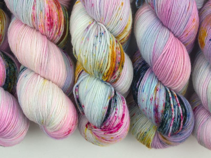 Das Mondschaf Merino Sock  Butterfly effect