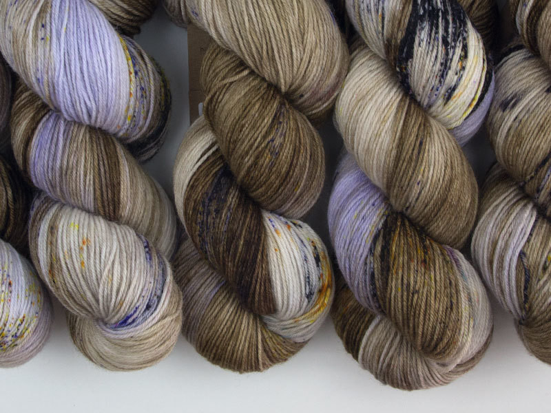 Das Mondschaf Sock Yarn Earl grey hot