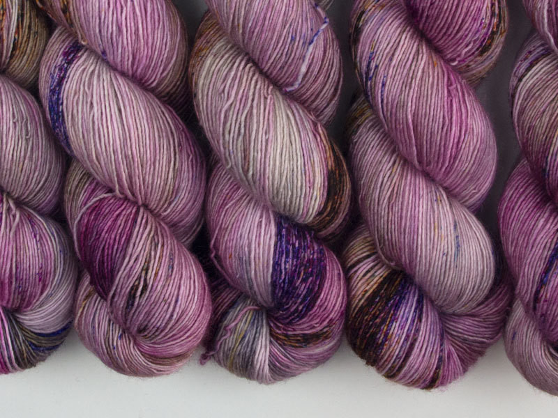 Das Mondschaf Merino Single Brombeere