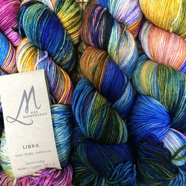 Das Mondschaf Sport Yarn I want to believe