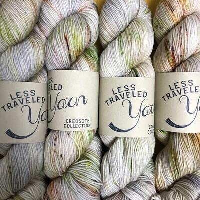 Less Traveled Yarn Fingering Sock Monument Valley