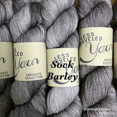 Less Traveled Yarn Fingering Sock Barley