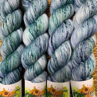 GGY GigglingGecko Socklandia Soxs Yarn Lost Seaglass