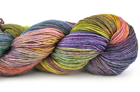 Malabrigo Sock Hand dye Yarn Diana #886