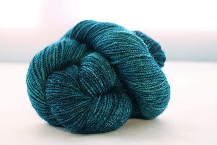Dream in Color Smooshy Cashmere Blend Sock VC008 Bermuda Teal