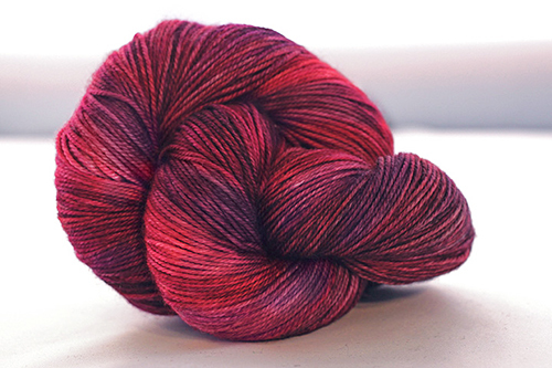 Dream in Color Smooshy Cashmere Blend Sock VC512 Evening Flame