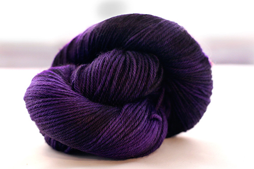 Dream in Color Smooshy Cashmere Blend Sock VC024 Amethyst Ink