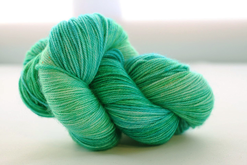Dream in Color Smooshy Cashmere Blend Sock VC516 Leprechaun Ballet