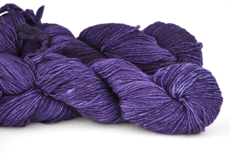 Malabrigo Silky Merino Purple Mystery #SM030