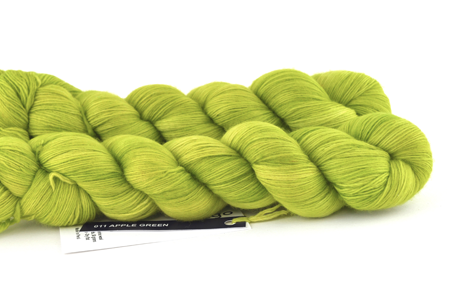 Malabrigo Hand dye Lace Apple Green #11