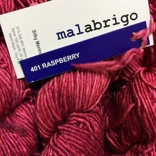 Malabrigo Silky Merino Raspberry #SM401
