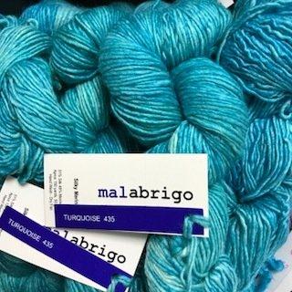 Malabrigo Silky Merino Turquoise #SM435
