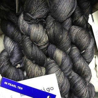 Malabrigo Hand dye Lace Yarn Pearl Ten #69