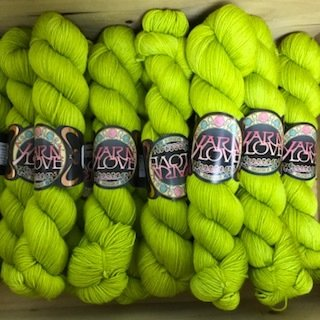 Yarn Love Goldilocks Fingering Frog Prince !!!