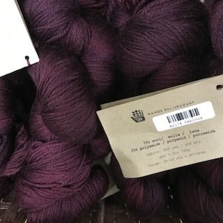 Manos Alegria Sock Yarn  Oxblood A2176