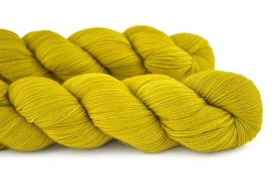 Malabrigo Hand dye Lace Yarn Frank Ochre #35