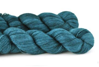 Malabrigo Hand dye Lace Yarn Emerald #135