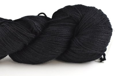 Malabrigo Sock Hand dye Yarn Black #195
