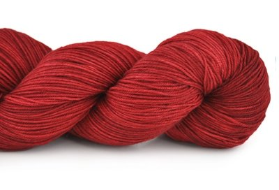 Malabrigo Sock Hand dye  Yarn Ravelry Red #611