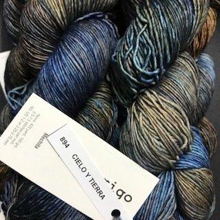 Malabrigo Hand dye Mechita Yarn Cielo Y Tierra  #894*