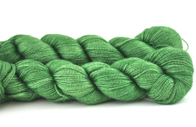 Malabrigo Silkpaca Saphire Green #4