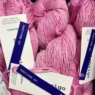 Malabrigo Silky Merino Party Pink #SM427