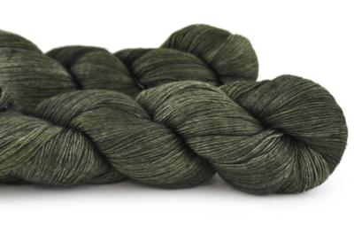 Malabrigo Hand dye Lace Yarn Olive #56