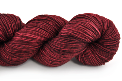 Malabrigo Sock Hand dye  Yarn Tiziano Red #800