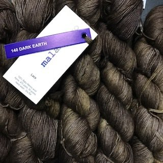 Malabrigo Lace Dark Earth #140