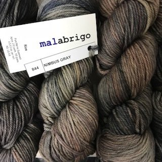 Malabrigo Rios  Nimbus Gray #844