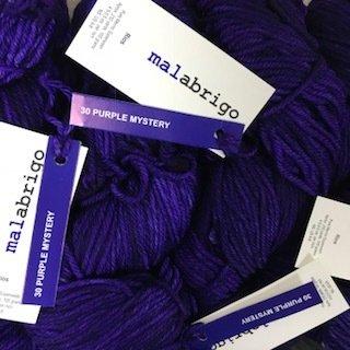 Malabrigo Rios Purple Mystery #30