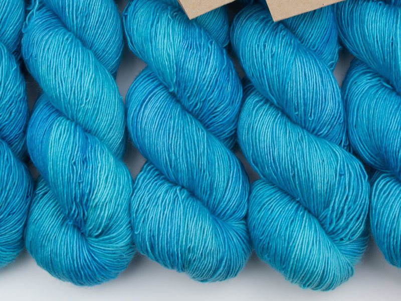 Das Mondschaf Merino Single  Lapislazuli