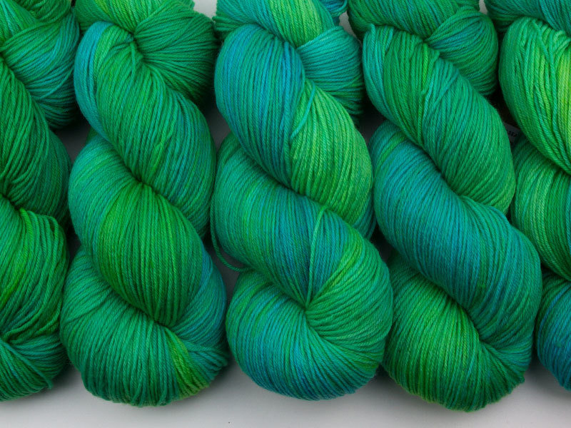Das Mondschaf Merino Sock Narrow Sea