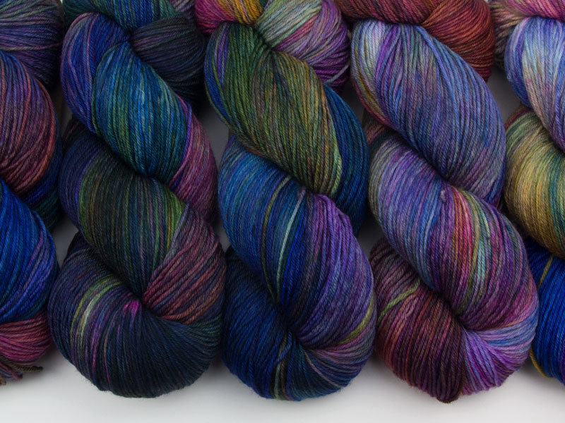 Das Mondschaf Merino Sock I want to Believe