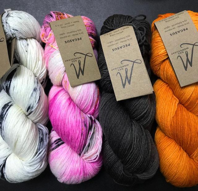 Yarn Set Exploration Shawl
