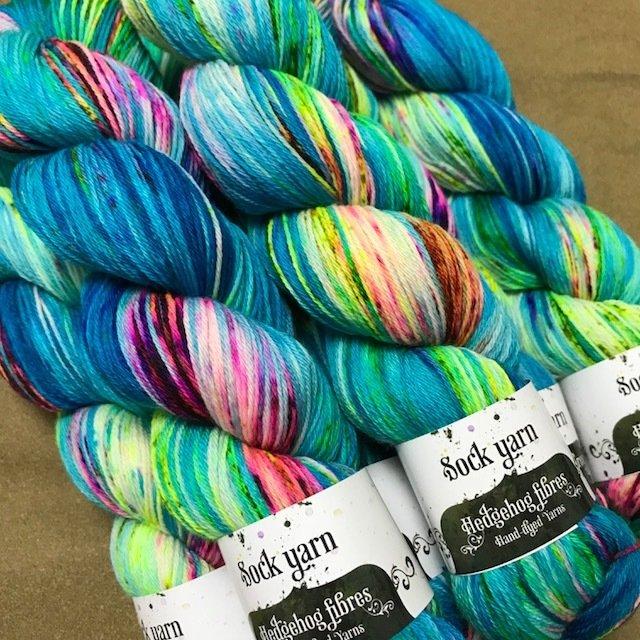 Hedgehog Bubble sock Yarn