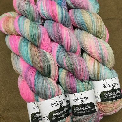 Hedgehog Sour Opalite sock Yarn