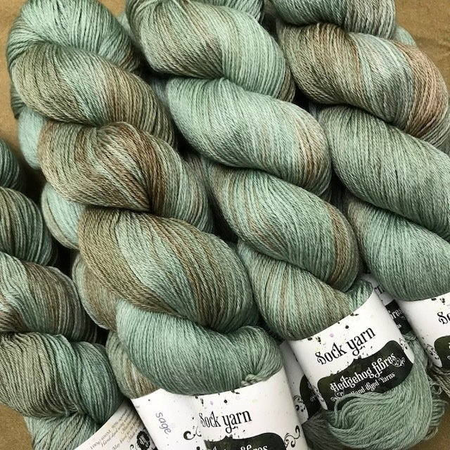 Hedgehog Sage sock Yarn