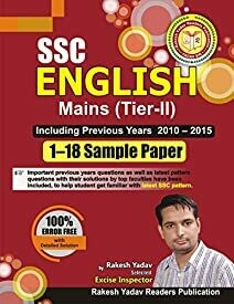 Sample Paper 1-18 English Mains (Tier-II)