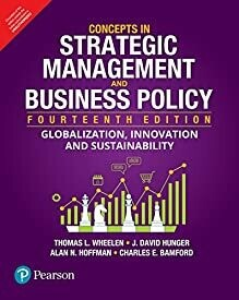 Concepts in Strategic Management and Bus