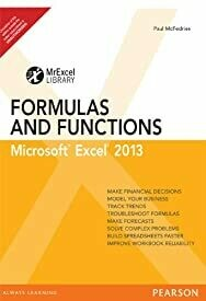 Excel 2013 Formulas and Function, 1e