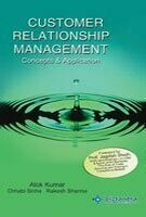 Customer Relationship Management: Concepts And Application 01 Edition
