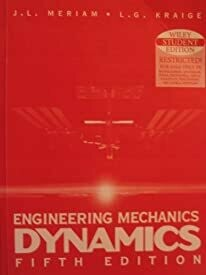 Engineering Mechanics Dynamics 5 Ed