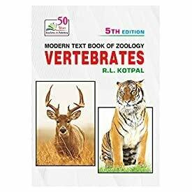 Rastogi Publications MODERN TEXT BOOK OF ZOOLOGY: VERTEBRATES (Z-3)