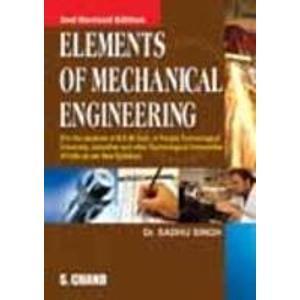 Elements of Mechanical Engineering                        Paperback by Singh Sadhu (Author)| Pustakkosh.com